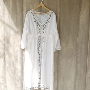 Take Two Cotton Cover-up, 3X